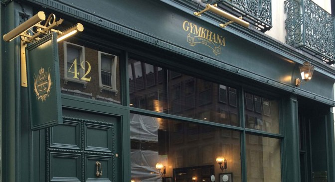 Gymkhana – exceptional Indian cuisine in London