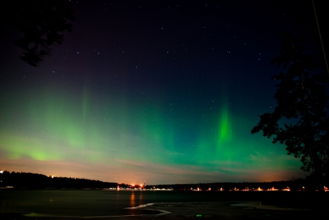 Northern Lights over Umea