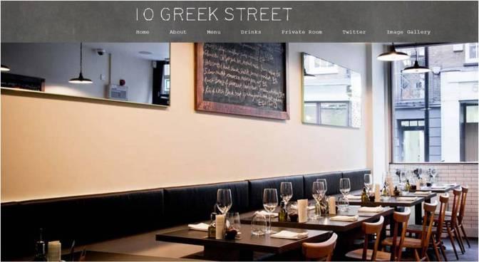 10 Greek St Soho London