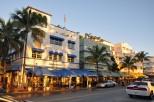 Art Deco Architecture on Ocean Dr Miami
