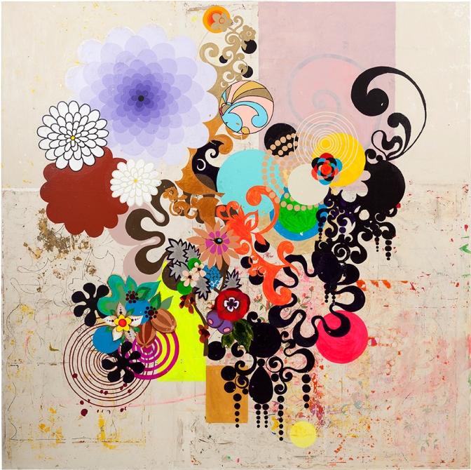 mariposa by Brazilian Artist Beatriz Milhazes
