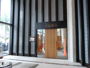Zuma entrance