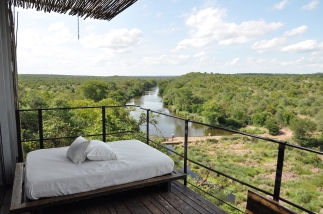 View from balcony at Singita Lebombo
