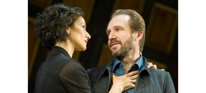 Ralph Fiennes & Indira Varma in Man and Superman