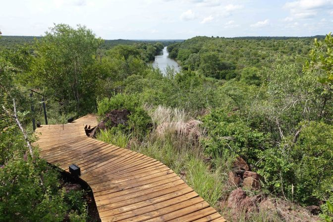 View over Kruger National Park South Africa
