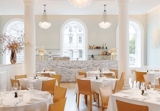 Skye Gyngell's restaurant, Spring, is well worth a visit