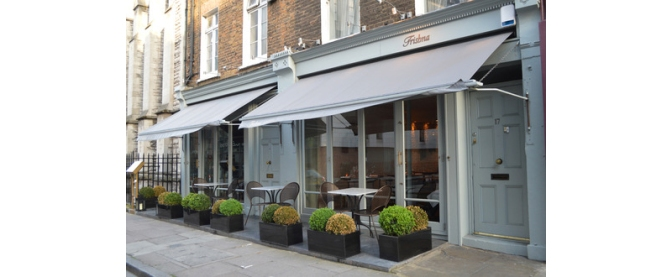 Exterior of Trishna Restaurant London