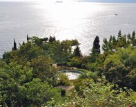 View over Amalfi Coast and Garden at Casa Privata