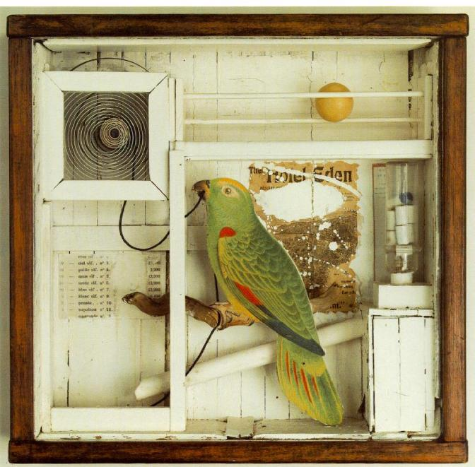 The magical workings of a curious mind – Joseph Cornell's Wanderlust