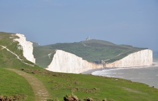 Cliffs at Seven Sisters Sussex