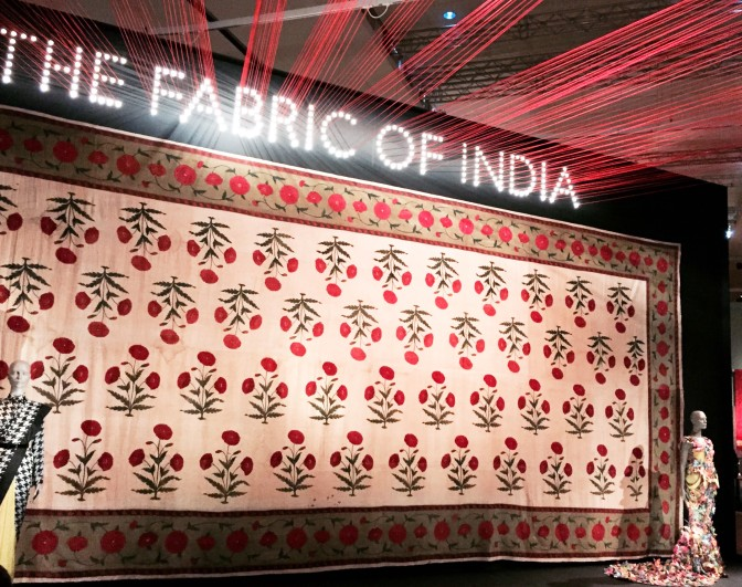 The Fabric of India Exhibition at the V&A