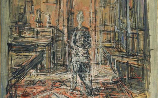 Giacometti – his paintings and sculptures