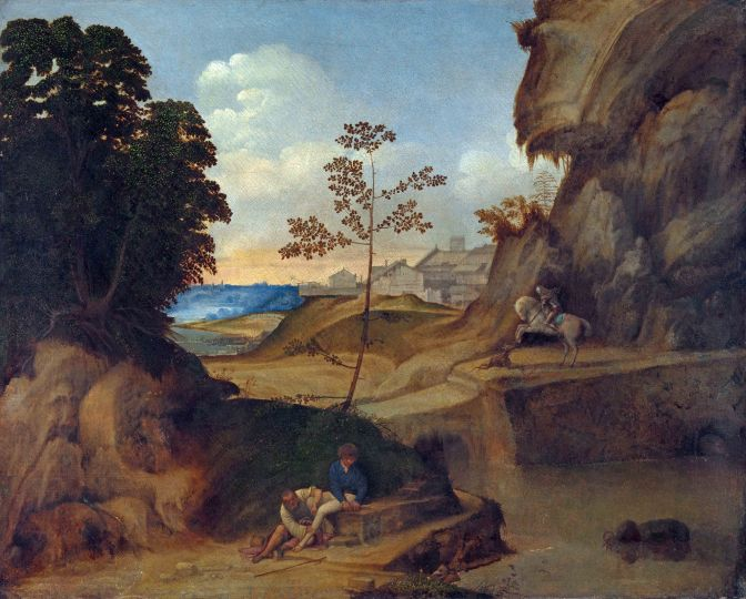 Discovering Giorgione and the birth of Venetian Renaissance Painting