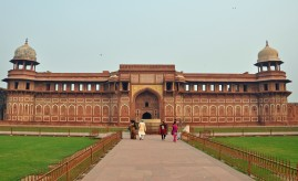 Inside Agra Fort New Delhi