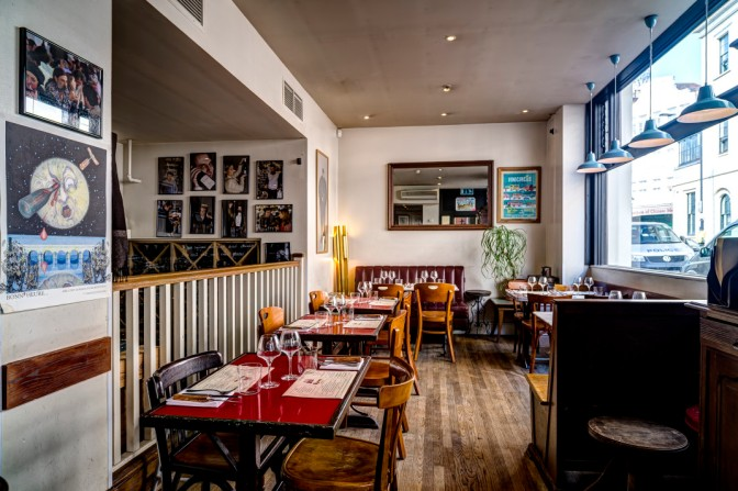 Terriors wine bar and restaurant – a wine lovers secret near Trafalgar Square