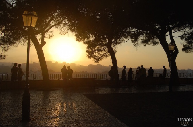Graça has the best viewpoint to watch the sunset in Lisbon …. and much more