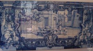 Tiled Panels in the Mosteiro de São Vicente de Fora