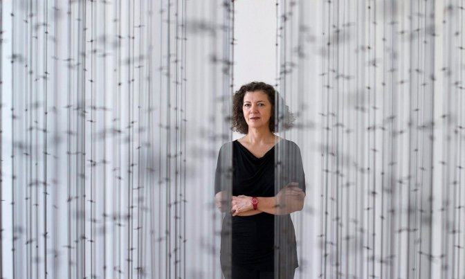 Mona Hatoum's art is challenging and unnerving.  It is also very rewarding.
