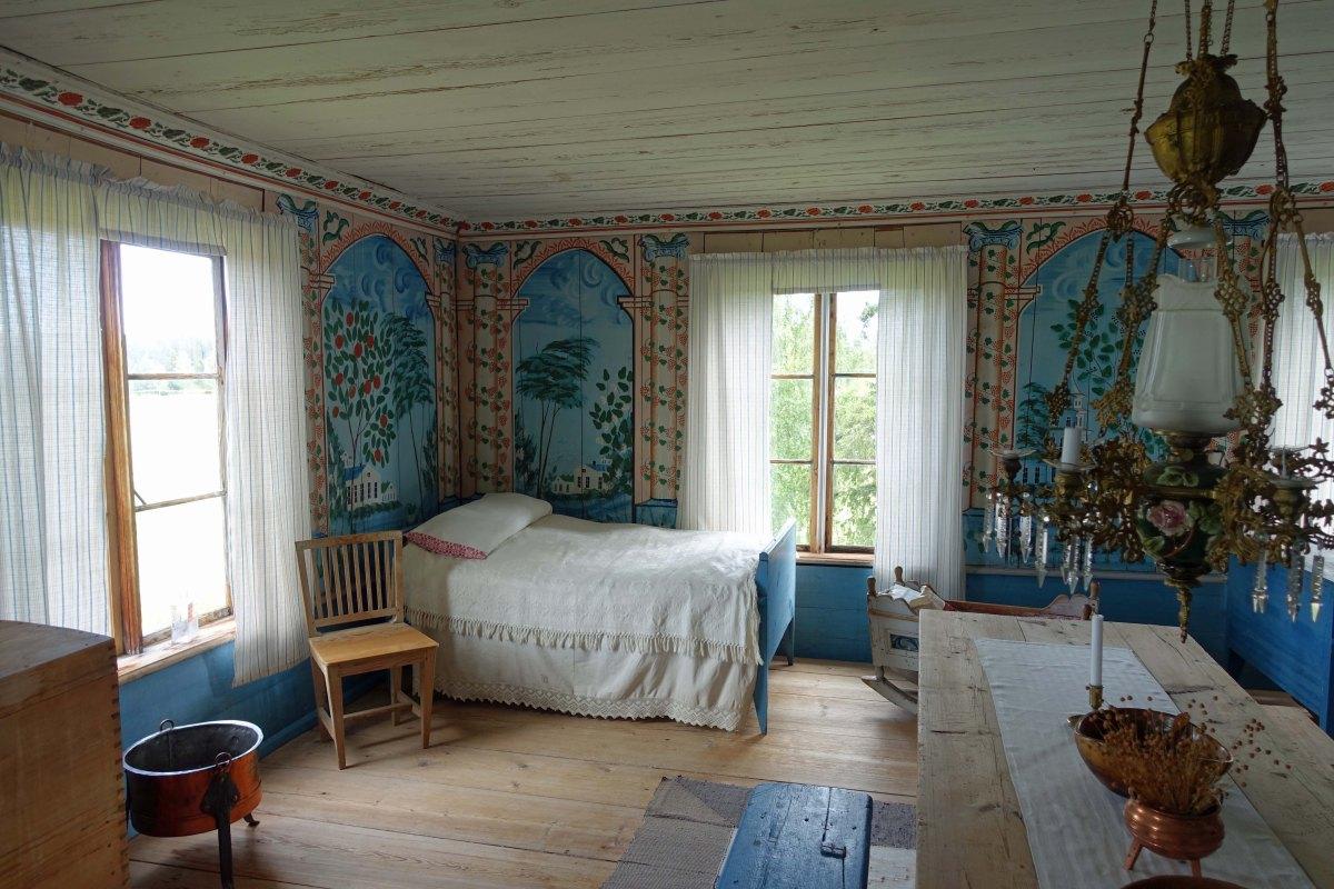 Jon-Lars Hälsingegårdar – a magnificent Hälsingland farmhouse